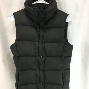 J. Crew Puffer Vest Coat Jacket Black